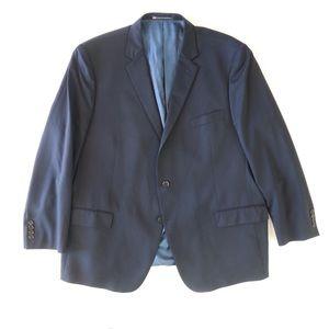 Hart Schaffner Marx Classic Fit Wool Solid Blazer